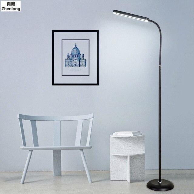 8w Modern Touch Led Standing Floor Lamp Reading For Living Room