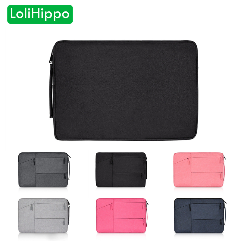 LoliHippo Portable Computer Liner Bag Laptop Notebook Messenger Case Bag for font b Apple b font