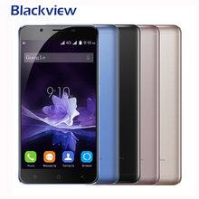 Blackview P2 Fingerprint Mobile Phone5.5Inch MTK6750T Octa Core Android 6.0  Cell phones 6000mAh  RAM4GB ROM 64GB 13MP 1920X1080