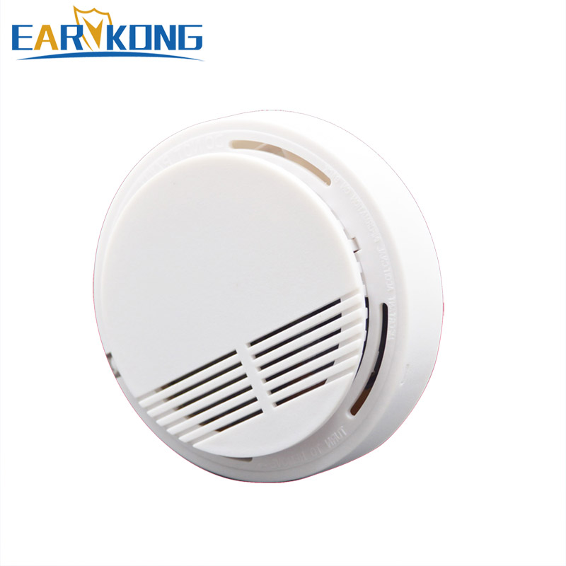 433MHz Wireless Smoke Protection Detector Smoke Fire Sensor for Wifi / PSTN / GSM Home Security Alarm System