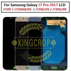 Image 1 - 5.5 affichage AMOLED pour SAMSUNG Galaxy J7 Pro J730 LCD pour SAMSUNG J7 2017 écran tactile numériseur J730F