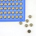 100 Unids/lote AG3 LR41 1.5 V 250 mah Pilas Alcalinas Botón Moneda de Celda de Batería Para Linterna Juguetes Relojes Reloj Bateria