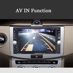 Image 3 - รถ Mp5 Mp4 เครื่องเล่นด้านหลังกล้อง 6.6 นิ้ว HD Digital Touch Screen รถบลูทูธ FM Transmitter ชาร์จ USB อุปกรณ์