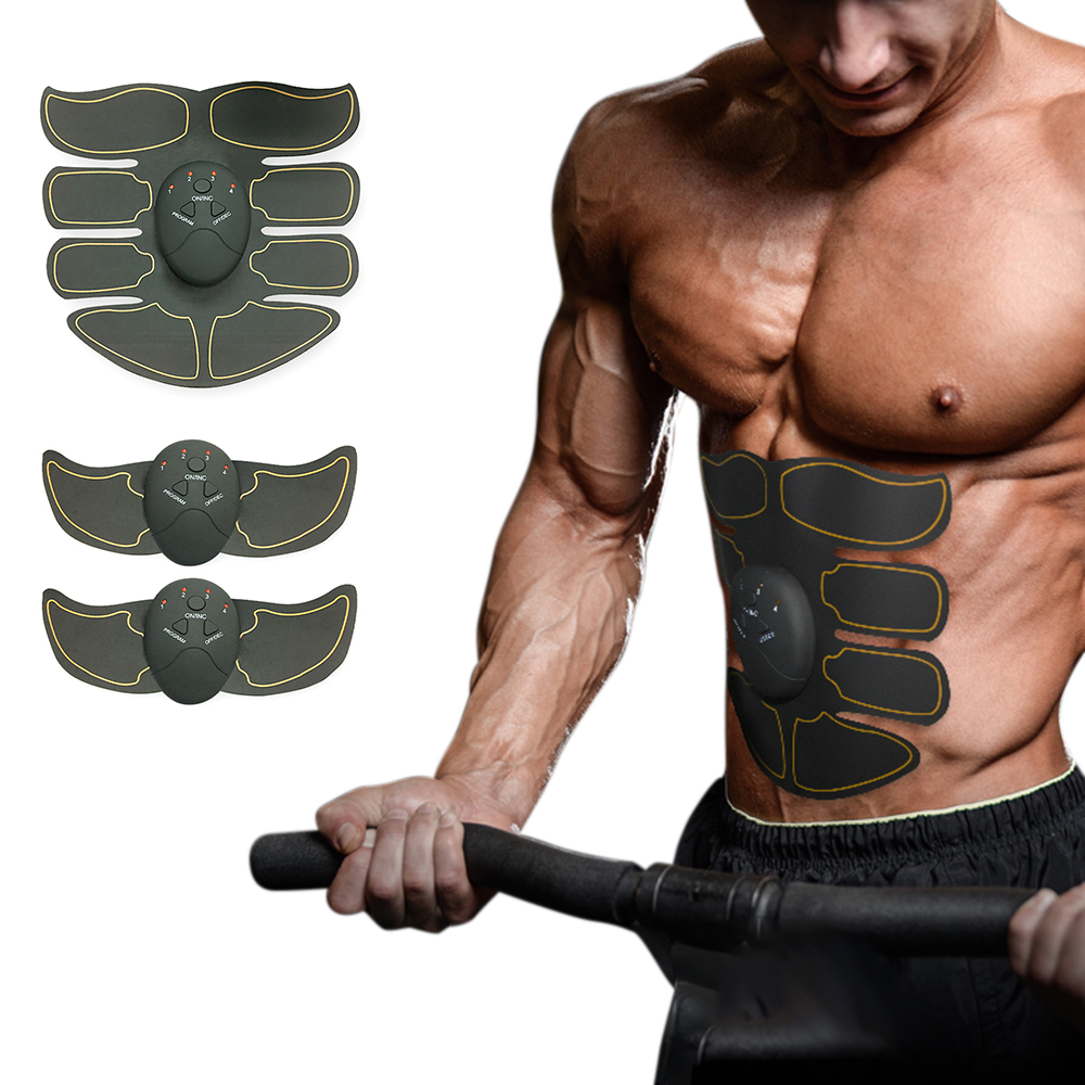 Body Building Fitness Massager Muscle Stimulator Body Slimming Shaper Machine Abdominal Muscle Exerciser Training Fat Burning