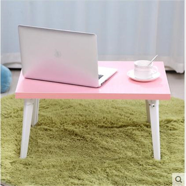 Notebook comter dormitory with simple folding lazy small table bed desk size FREE SHIPPING