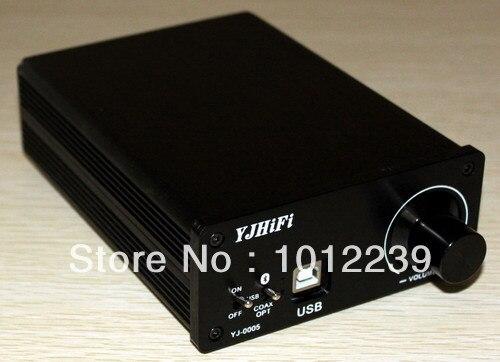 (50 W + 50 W) amplificateur de décodeur USB DAC Coaxial Fiber Bluetooth TDA7492