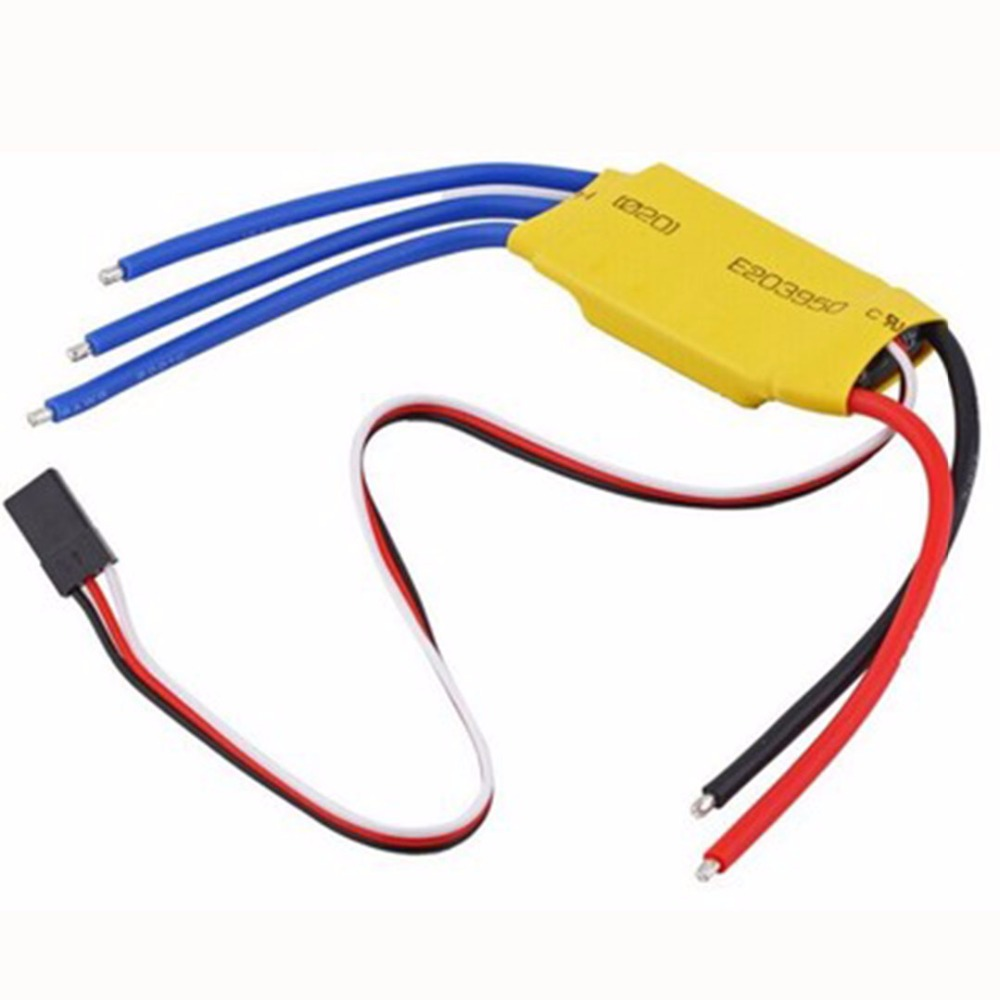1 Piece Remote Control Toys Accessory 30A Electric Speed Controller ESC For RC Brushless Motor Airplane Quadcopter Aircraft ...