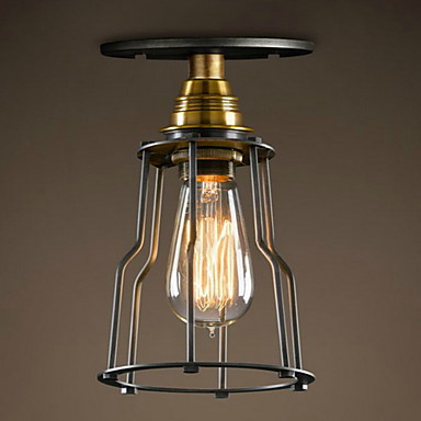 Llamparas De Techo Dritat Industriale Living Lampa tavan Left dritë - Ndriçimit të brendshëm