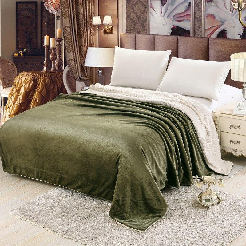 SongKAum Luxury Blanket Bedding New Fashion Imitation Cashmere Blanket Newborn Infant High Quality Carpet Kids Blanket - 6