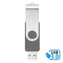 J-boxing Gray 16GB USB 3.0 Flash Drive Metal Thumb Memory Stick Swivel Pen 32GB 64GB for Computer Mac Tablet