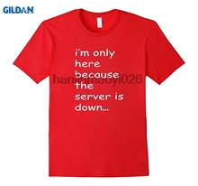 84390da4d GILDAN Funny Computer Geek Tech Science Geeky Gifts Quotes T Shirt(China)