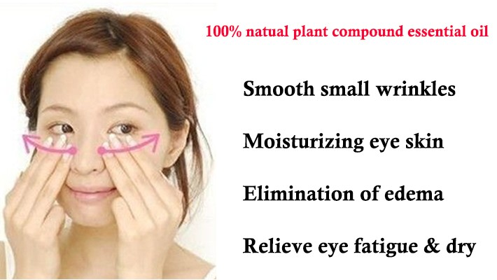 Soothing Eyes Essential Oil for Relieve Tired Eyes and Dark Circles Eye Care Massage Oil 10ml 10