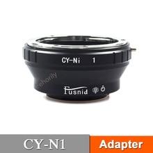 CY-N1 Adapter for CY Lens to  N1 V1 J1 J2 J3 J4 Camera mirrorless 50mm f1 8 c mount lens for aps c camera m4 3 fx eosm n1 p q m3 m2 x e1 x pro1 nex 7 nex 5 j3 v3 j2 v2 j1 v1