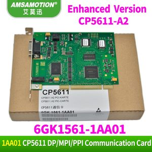 Image 1 - Amsamotion CP5611 A2 Communication Card 6GK1561 1AA01 Profibus 6GK15611AA01 DP CP5611 Suitable Siemens Profibus/MPI PCI Card