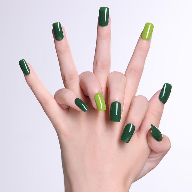 LILYCUTE 8ml Hallowmas Green Nail Gel