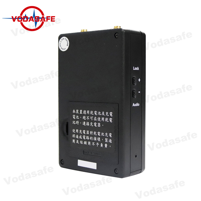 1.2GHz/2.4GHz/5.8GHz Triband Hidden Camera Detector With Built-in Battery 4