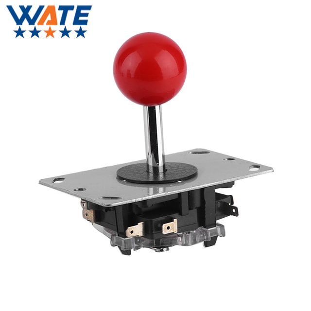 In stock! Classic 4/8 way Arcade Game Joystick Ball Joy Stick Red Ball Replacement Newest Free shipping