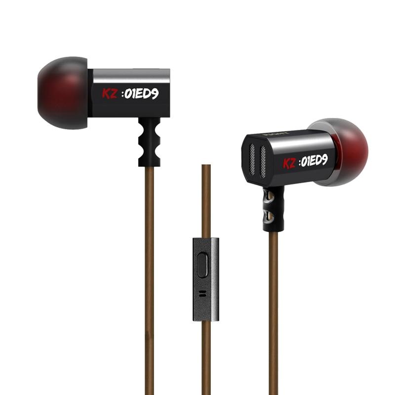 KZ ED9 Super Bowl Tuning Ugelli Auricolare In Ear Monitor HiFi Auricolari Con Microfono Suono Trasparente per il Telefono Mobile