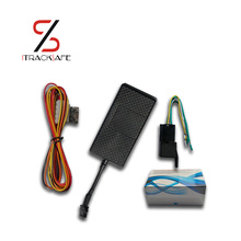 real time mini gsm gprs motorcycle motor vehicle car gps tracker locator tracking locating device with with relay