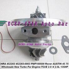 Турбо картридж CHRA 452202 452283 452202-5004 S 452202-0004 452283-0003 PMF100500 для Rover Остин 45 75 SDI для MG ZR25 TCI/E