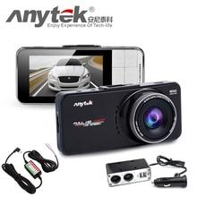 Оригинал Anytek AT66A full HD Новатэк 96650 Камеры Автомобиля DVR Рекордер черный Ящик 170 Градусов 6 Г Объектив Ужин Ночного Видения Даш Cam
