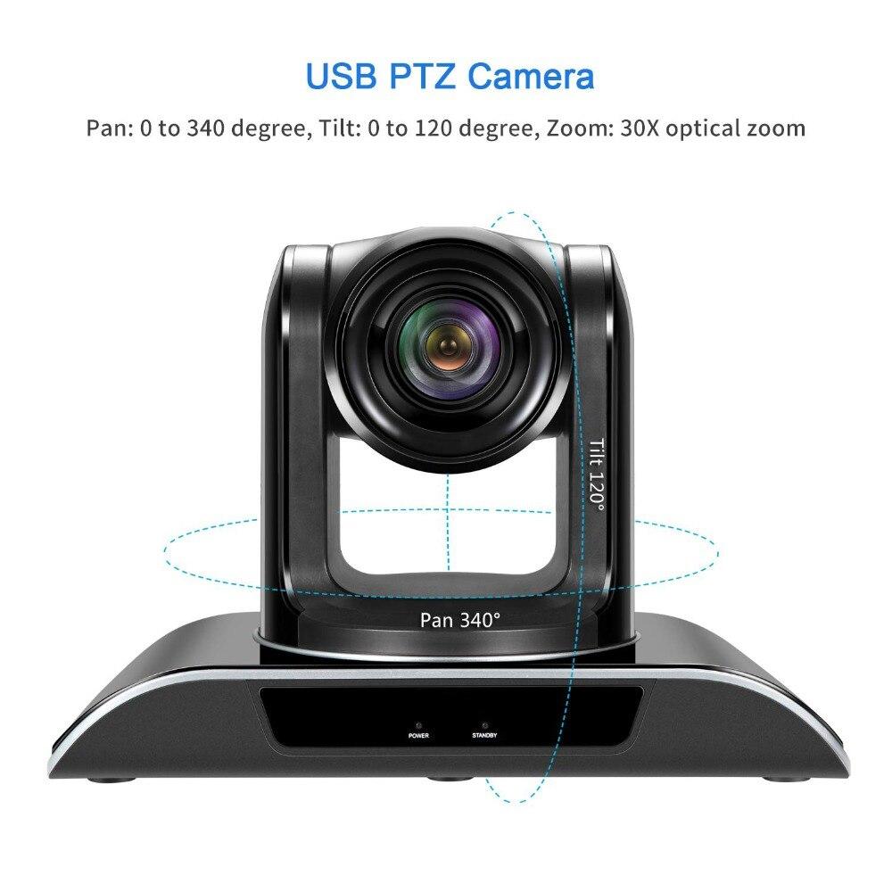 VHD30N 3MP 30X Zoom PTZ caméra d'intérieur HD1080P 3G-SDI caméra vidéo de sortie HDMI pour salle de conférence télé-médicale - 2