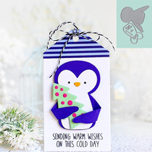 Lovely Winter Penguin DIY Cutting Dies Metal Stencil For Scrapbooking Handicraft Embossing Card Decoration Template Handmade
