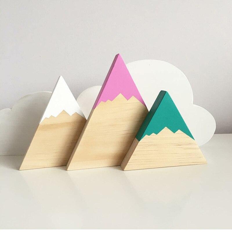 2018 строительные блоки деревянные Hill набор Детская комната Подставки для фотографий best подарки для детей украшения Изделия из дерева Свадеб...