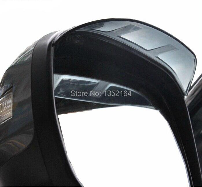 Авто зеркало заднего вида дождь щит дефлектор для Skoda YETI, ABS, 2 шт./лот, стайлинга автомобилей