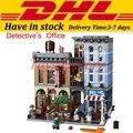 2017 LELE 30008 LEPIN 15011 2262Pcs Creator City Street Detective's Office Model Building Kit Blocks Bricks Toy 10246