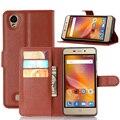 Para zte blade x3 caso filp carteira de couro pu casos de telefone para zte blade x3/blade d2/lâmina t620 cobre estande slot para cartão de telefone sacos