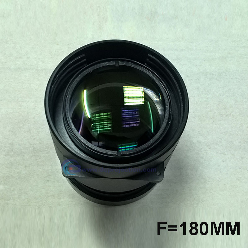 Factory Sale! LED Projector DIY Lens Focal Length F=180mm DQPL-F180 Projection Lens For 5 Inches Projectors LCD