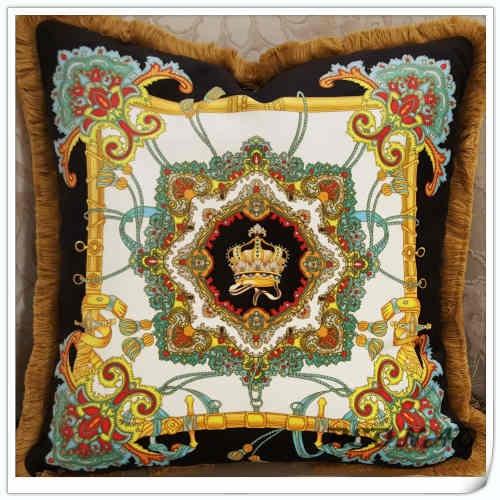 Luxurious Pillow Cover Cushion Cover Home Decor Golden Pint Velour Pillow Case /sofa cushions decorative Throw 50x50 cm