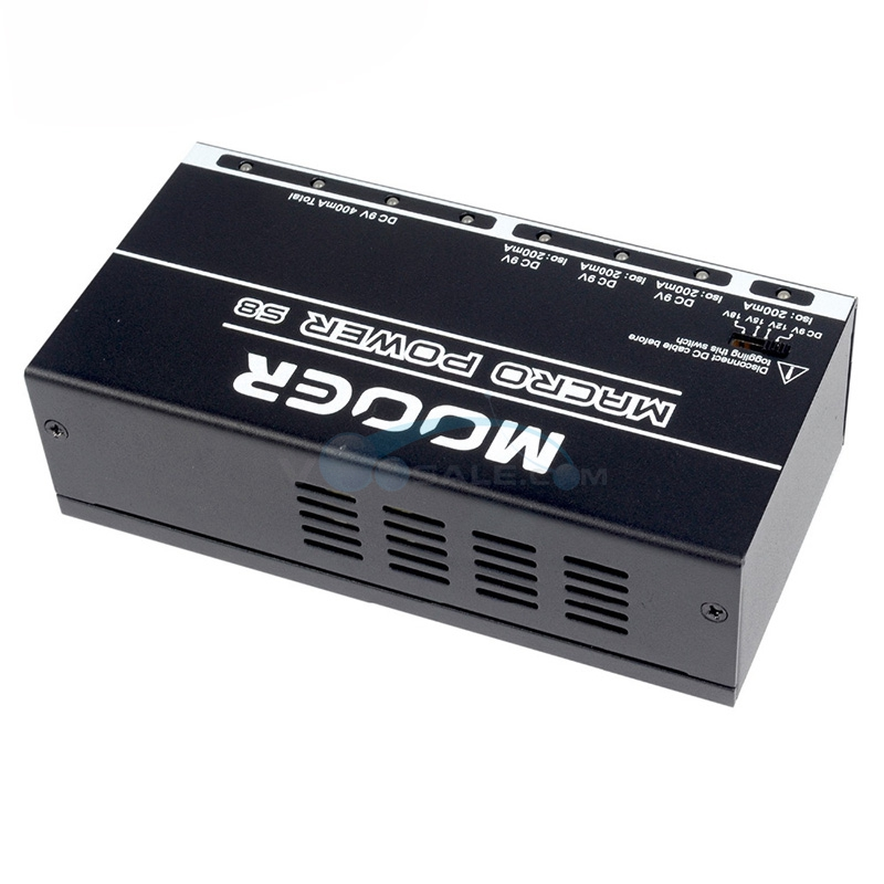Mooer Macro Power S8 Power Supply 8 Ports Isolated Guitar Effect Pedal Power Supply for Guitar Effect Pedal