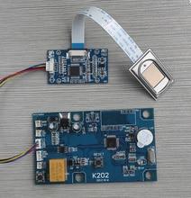 K202 fingerprint control board  and R303 fingerprint  reader