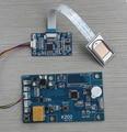 K202 huella digital tarjeta de control y R303 lector de huellas dactilares