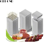 GFHGSD Easy Barbecue Kebab Maker Meat Brochettes Skewer Machine Bbq Grill Accessories Tools Set