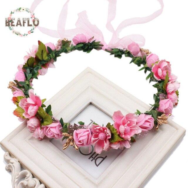 Sztuczny Kwiat Korony Dekoracji Drzwi Dekoracje ślubne Druhna Kwiat
