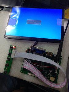 HDMI VGA 2AV LCD controller board with 7inch N070ICG LD1 1280x800 IPS lcd 39p