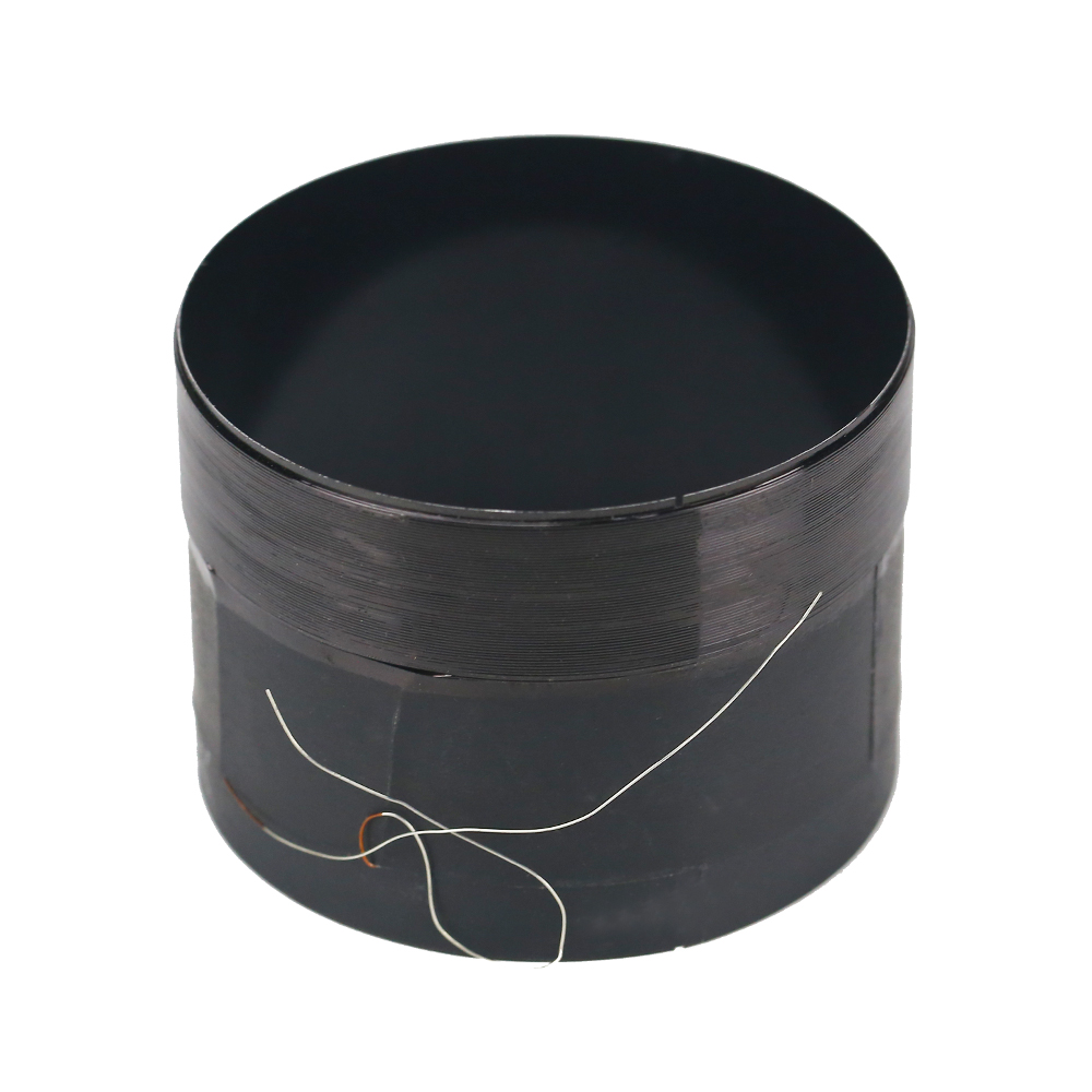 1pcs 100mm 8ohm 8Ω Round wire speaker bass voice coil ASV White aluminum