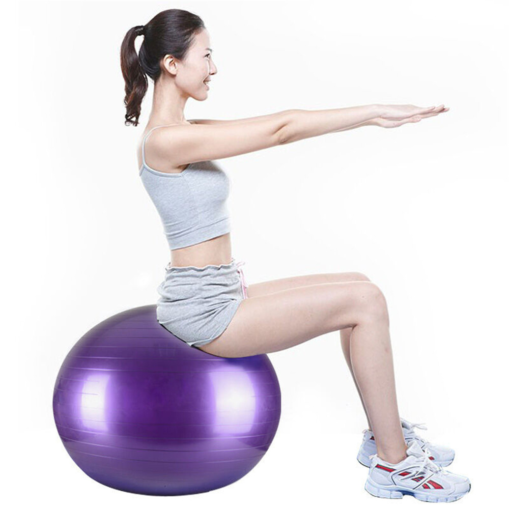 Mini 25cm/15cm Wheat Tube fitness Balance Ball Thickening Matte Pilates Yoga Auxiliary Ball Fitness Pilates
