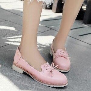 Image 3 - Grande taille 11 12 dames talons hauts femmes chaussures femme pompes simple chaussure décontracté chaussures peu profonde à tête ronde femme