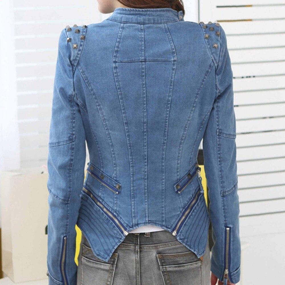 Denim Jeans Tuxedo Coat Blazer Jacket - All The Best Blazer In 2018