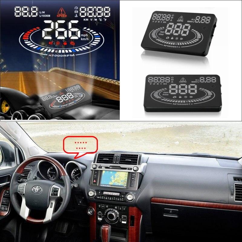 ᑎ‰Автомобилей HUD Head Up Дисплей для Toyota Land Cruiser ...