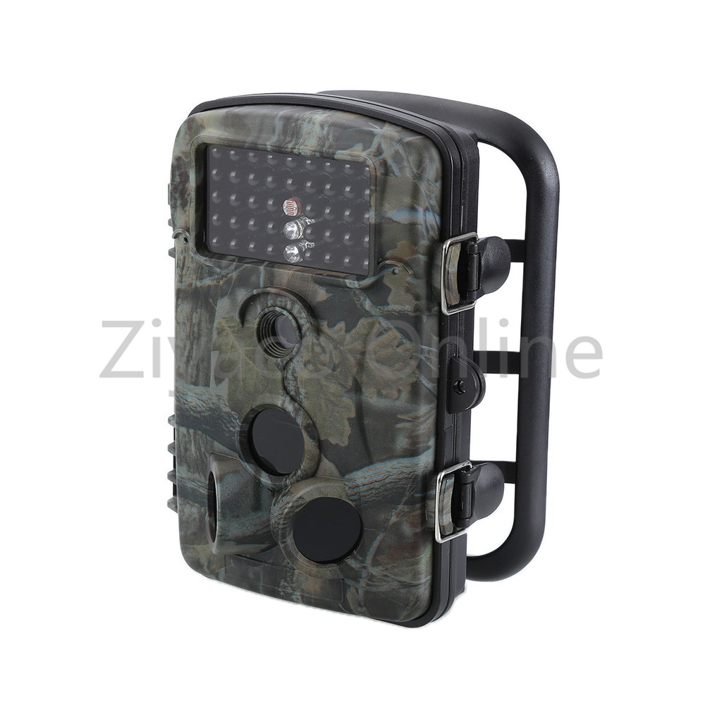 12MP HD Infrared Hunting Trail Camera Wildlife Scout Night Vision Cam Digital Scouting Hunting Detection Trail 940nm scouting hunting camera 16mp 1080p new hd digital infrared trail camera 2 inch lcd ir hunter cam