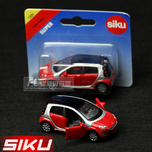 Wholesale!FREE SHIPPING!(10pieces) 100% Brand New car's model/Delicate toy car in a box smart forfour alloy car model toy car