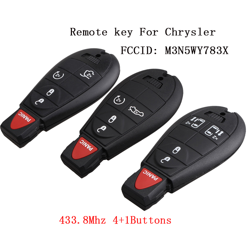New 2013 Jeep Grand Cherokee Keyless Entry Remote Key Fob 5 Button