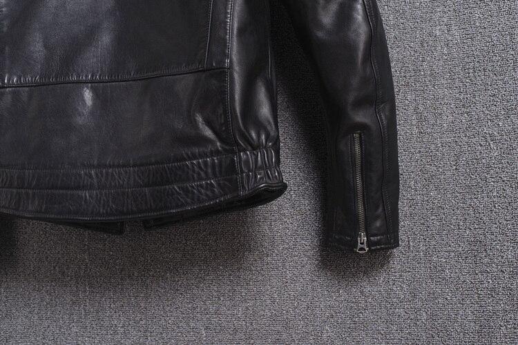 Casacos de couro legítimo