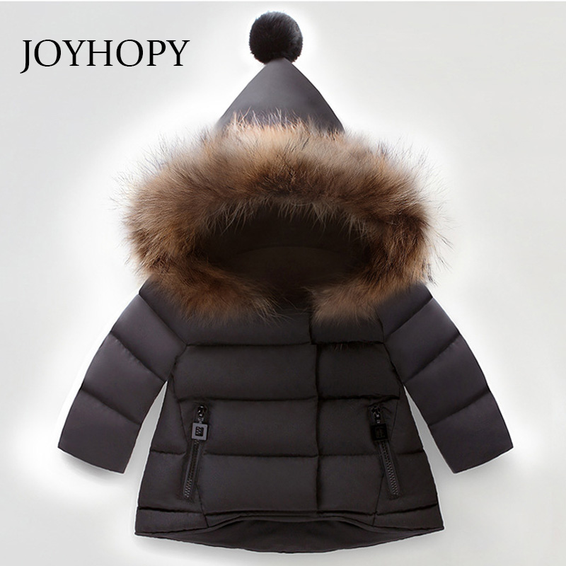 philology Baby Boys Jacket for Boys 2017 Winter Faux Fur Hooded Parkas Kids Warm Outerwear Children Clothes Infant Girls Coat 2017 new children baby winter cotton padded jacket toddler girls boys zipper nylon coat fashion outerwear kids parkas clothes