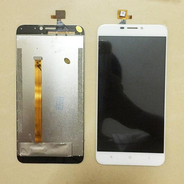 Preto/branco para oukitel u20 mais display lcd + tela de toque digitador assembléia peças reparo